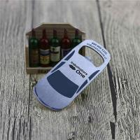 Cheap Cheap Promotion Blank Stainless Steel Engrave Car Shape Bottle Opener for sale