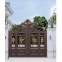 Cheap Beautiful and Durable Aluminum Sliding Door Main Gate Design Used Exterior Doors for Sale for Courtyard for sale