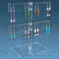 Cheap Acrylic Clear Multi-necklace Stand, Customized Designs are Accepted  for sale