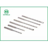Cheap 6 * 160mm S4 Flute SDS Drill Bits , YG8C Electric Hammer Sds Plus Drill Bits for sale