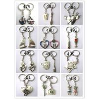 Cheap personalized wedding giveaways gifts couple key chains for sale