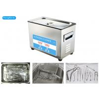 Cheap Digital Control Tabletop Ultrasonic Cleaner , Surgical Ultrasonic Cleaner With Heater for sale