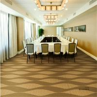 Conference Room Pvc Floor Covering Jacquard Style Machine Woven Technics