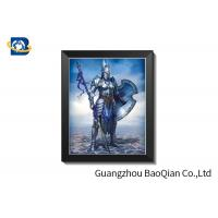 Cheap Promotional 3D Lenticular Pictures With PVC Frame /lenticular Photography for sale