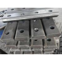 China Various international standard rail fish plate joint bars rail joint bar on sale