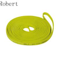 Cheap 10 mm Pitch Toothed Polyurethane Timing Drive Belts High Abrasion Resistance for sale