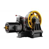 Cheap 0.25~1.0 M/S Geared Traction Machine , DC110V Cargo Lift Traction Machine for sale