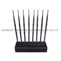 China Omni Directional 5 Watts Mobile Phone Signal Jammer / WiFi Signal Jammer With 8 High Gain on sale