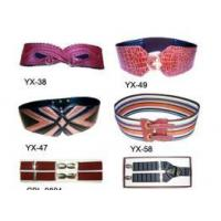 Buy cheap PVC/PU: Lady Belt/Men's Hanging Belt from wholesalers