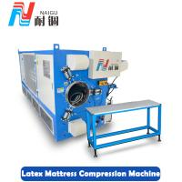 China China Foshan factory price latex foam mattress compression machine/mattress roll packing machine on sale