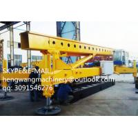 Buy cheap Ground Screw spiral pile drilling machine from wholesalers
