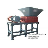 Cheap waste tire shredder, waste tyre crusher, rubber crush and recycling machine, solid waste crusher, double shaft shredder for sale