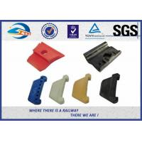 Cheap PA66 Rail Nylon Insulator Plastic and Rubber Part for Railway Fastening System for sale