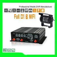 Cheap Hot sale Shenzhen 4ch SD Card vehicle mobile DVR GPS WIFI 3G options real-time minitoring for sale