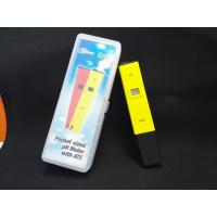 Cheap China Cheepest waterproof PH temp meter pen type of PH with ATC for sale