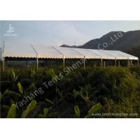 Cheap 100 Percent Waterproof Aluminum Frame Canopy Tents , Big Event Tent Structure for sale