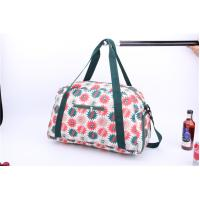 Cheap New style light weigh weekender bag with beautiful flower printing for sale