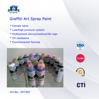 Cheap Multi Colors 400ml Art Graffiti Spray Paint For Wall / House Decoration for sale