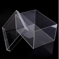 Cheap China factory wholesale acrylic/plastic  shoe box supplier for sale