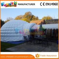 Cheap PVC tarpaulin Dome Inflatable Igloo Tent For Camping with Hand printing wholesale