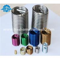 Cheap China supplier fastening service stainless steel wire thread repairing inserts for aluminum manufacturer for sale
