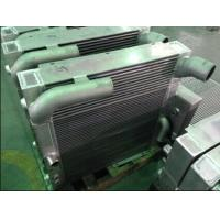 China Water To Oil Construction Machinery Combined Cooler of Plate And Fin on sale