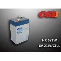 Cheap 6V5AH HR621W High Rate Dicharge UPS EPS Power Supply VRLA Battery wholesale