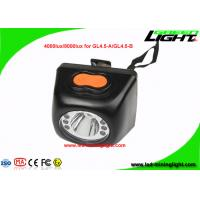 China Cordless Led Mining Cap Lights Head Lamp 1W With High Low Beam Lighting Mode on sale