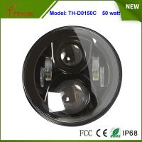 Cheap 7 inch 50W LED Headlight with DRL High beam/low beam for Jeep Wrangle,Hummer, Camaro FJ for sale