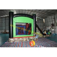 Quality zombies bouncy castle slide house wholesale