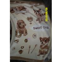 Cheap 100% Polyester Single Bed Blankets With Sigle Printed 140X200CM for sale