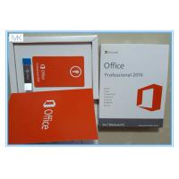 Cheap Microsoft Windows Software / Microsoft Office 2016 Pro Plus For 1 Windows/PC Life Time wholesale