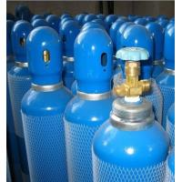 Cheap En 1964 - 1 Std Seamless Steel Gas Cylinders Industrial Oxygen Gas Cylinder GB5099 / ISO9809 40L 150bar / 250bar for sale