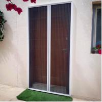 Cheap New style hot sale Invisible Plisse screen windows and doors for wholesale for sale