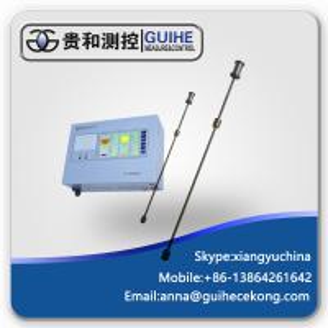 China Fuel fueling station magnetostrictive liquid  management refuel oil tank level gauge  diesel fuel tank level sensor on sale