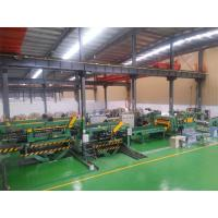 China Electric Control Cut To Length Line With PLC Contolled 28 Tons on sale