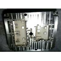 Cheap PC injection mold components for Electrical socket parts , cosmetic and holes for sale