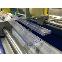 Cheap PVC IC Packing Tube / Plastic Profile Extrusion Machine , IC Tubing Extrusion Line for sale