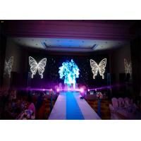 Cheap HD Seamless indoor led display screen For Events , 64 x 64 Dots LED Stage Panels for sale