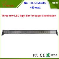 Cheap China factory hot wholesale 450w Epistar off road led light bar 3 rows 55 inch for sale