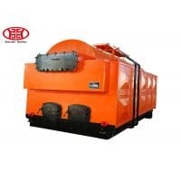 Cheap Natural Circulation Type Coal Steam Boiler Horizontal Rice Mill / Textile Industry Use for sale