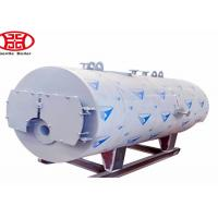 Cheap Oil Gas Fuel Steam Heat Boiler , Fire Tube Steam Boiler For Industrial pringting dyeing mill for sale