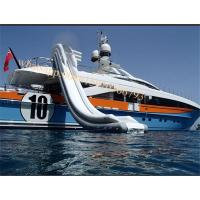 Cheap water slide boat water slide boat inflatable water slide for boat ship yacht for sale