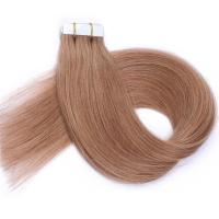 Buy cheap 100 Human Hair Tape In Extensions , Tape Weft Hair Extensions No Shedding from wholesalers