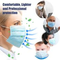 Cheap Antibacterial Disposable Surgical Mask Splash Repellent For Medical Staff for sale