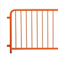 Quality Easy Installation Metal Fence Accessories Temporary Construction Guardrails wholesale