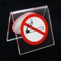Cheap Acrylic Warning Board, Suitable for Public Place, Customized Designs are Welcome for sale