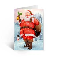 Cheap Happy Birthday Lenticular Greeting Cards / Colored 3D Lenticular Card for sale