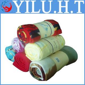 Cheap sherpa summer polar fleece flag polyester blankets blankets polyester for sale