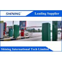 STEP Anti - Crash Swing Arm Automatic Toll Gate For Traffic Access Control